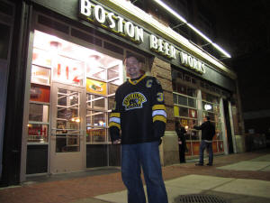 Boston Beer Works on the Frozen Pond Pilgrimage - Boston Bruins