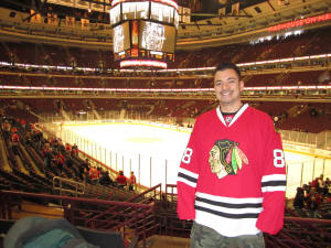 NHL Ice at the United Center - Frozen Pond Pilgrimage