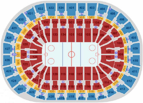Nhl Hockey Arenas Bankatlantic Center Home Of The