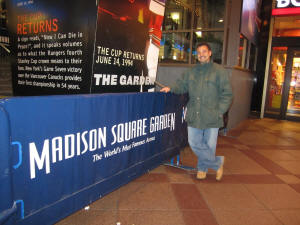 Nhl Hockey Arenas Madison Square Garden Home Of The