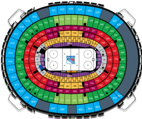 Msg rangers seating chart people davidjoel co