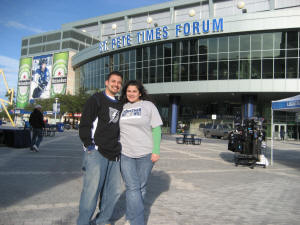 St. Pete Times Forum, Tampa Bay Lightning - Frozen Pond Pilgrimage