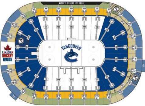 Rogers Arena Floor Plan Gaming Canucks Community
