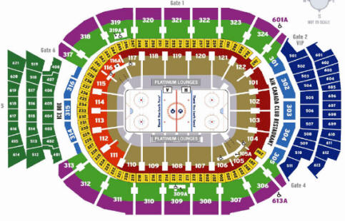 Nhl Hockey Arenas Air Canada Centre Home Of The