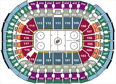 Nhl Hockey Arenas Verizon Center